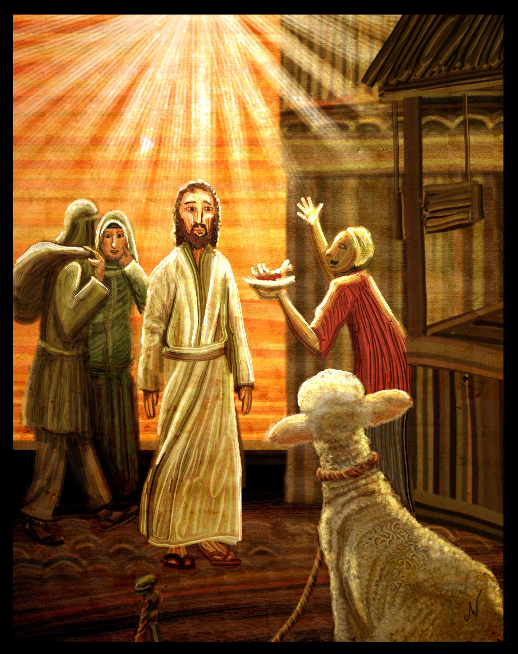 """Passover Lamb"""
