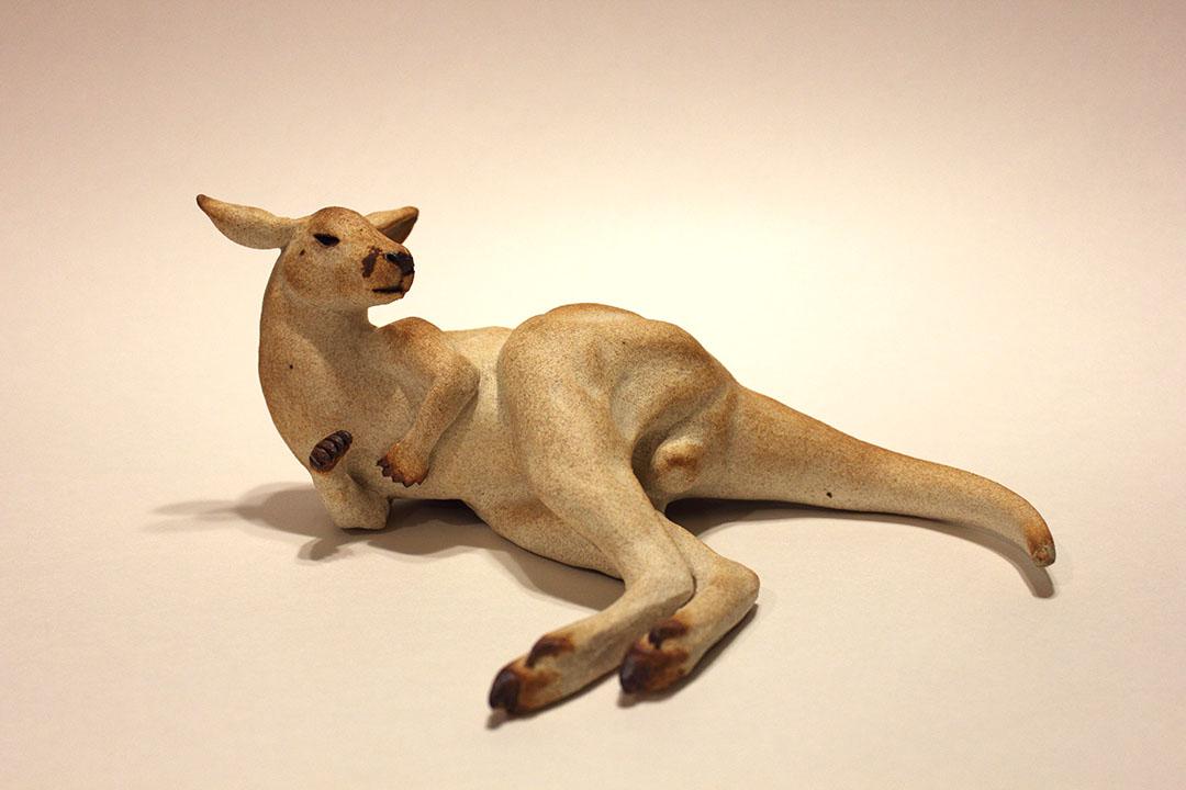 """Reclining Kangaroo"""