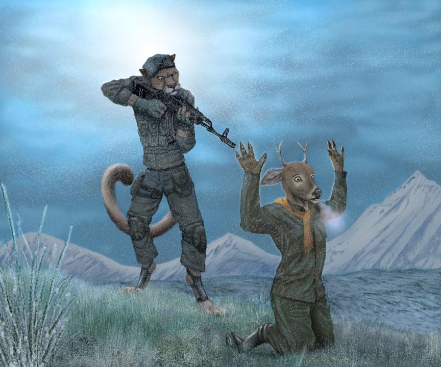 """""""Deer Hunt"""""""