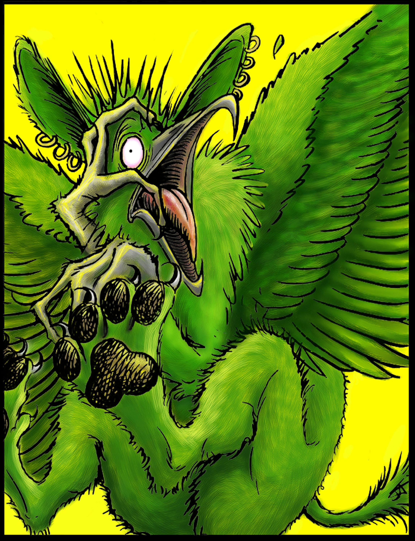 """Green Gryphon"""