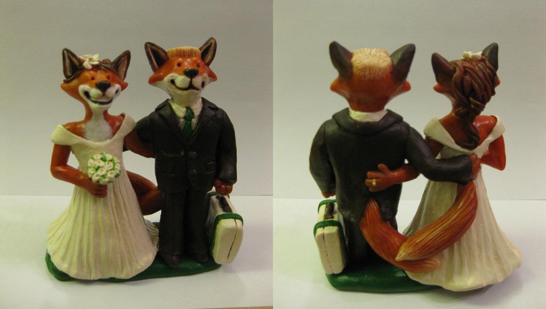 Fox Cake Topper #2