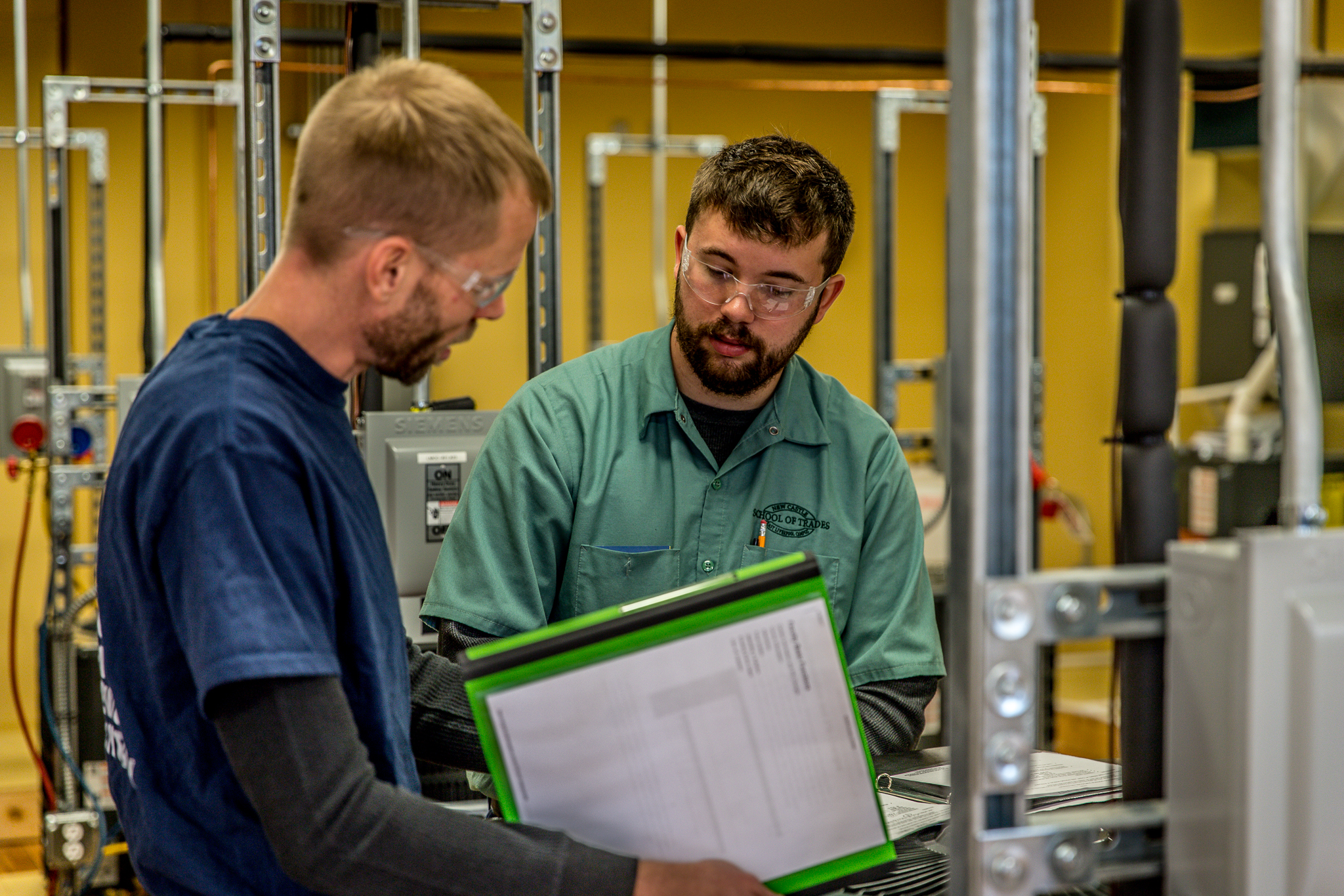 Refrigeration and Climate Control - This program is designed to provide students with the entry level knowledge and skills to install and repair: heating, air conditioning and commercial/residential refrigeration equipment. The program covers in practice and theory the electrical requirements from power sources to circuits, diagnosing, troubleshooting, and installation of RHVAC.