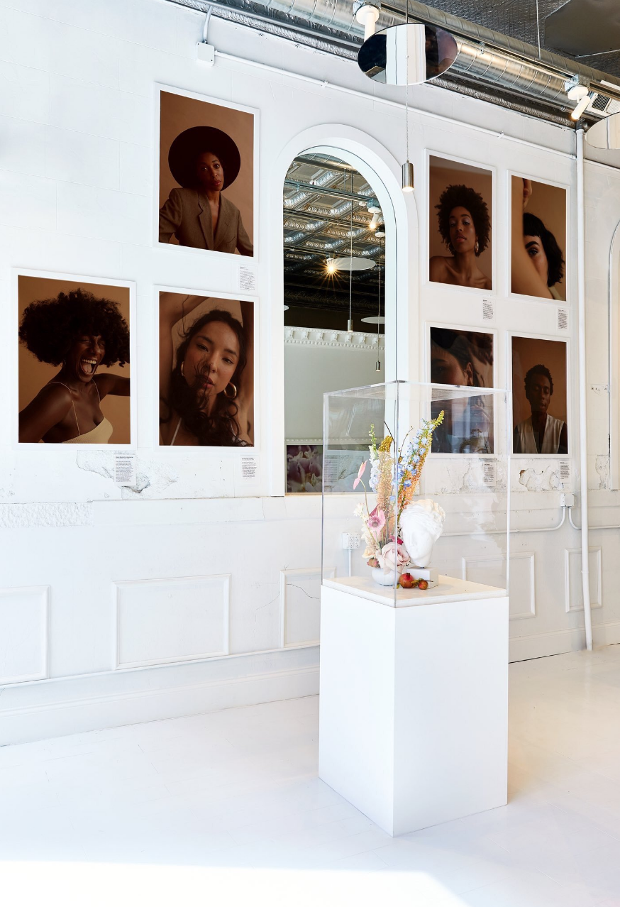 Photos by Deun Ivory  MUA MollieGloss Assist Sophia Porter Makeup  Styled by Michaela Quan  Photos displayed in the Glossier Popup Chicago August - October 2018