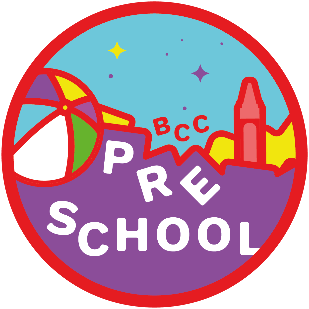 Sparklers - Spirit filled pre-schoolers! One third of our Sunday Children's Church groups, packed full of our own worship, Bible teaching, curious crafts, fun and games.CHINE, LIFE.CENTRE Sun. 11.00am.