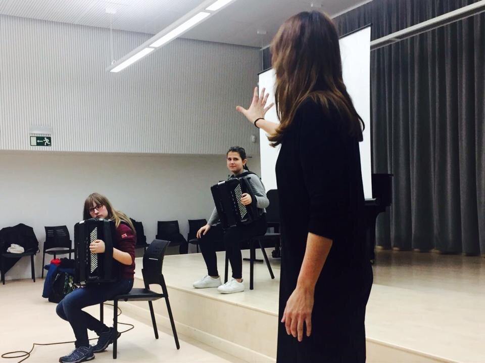 Accordion Masterclass - Improvisacions and creativity