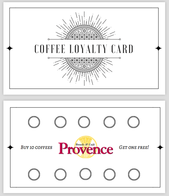 Loyalty Card -