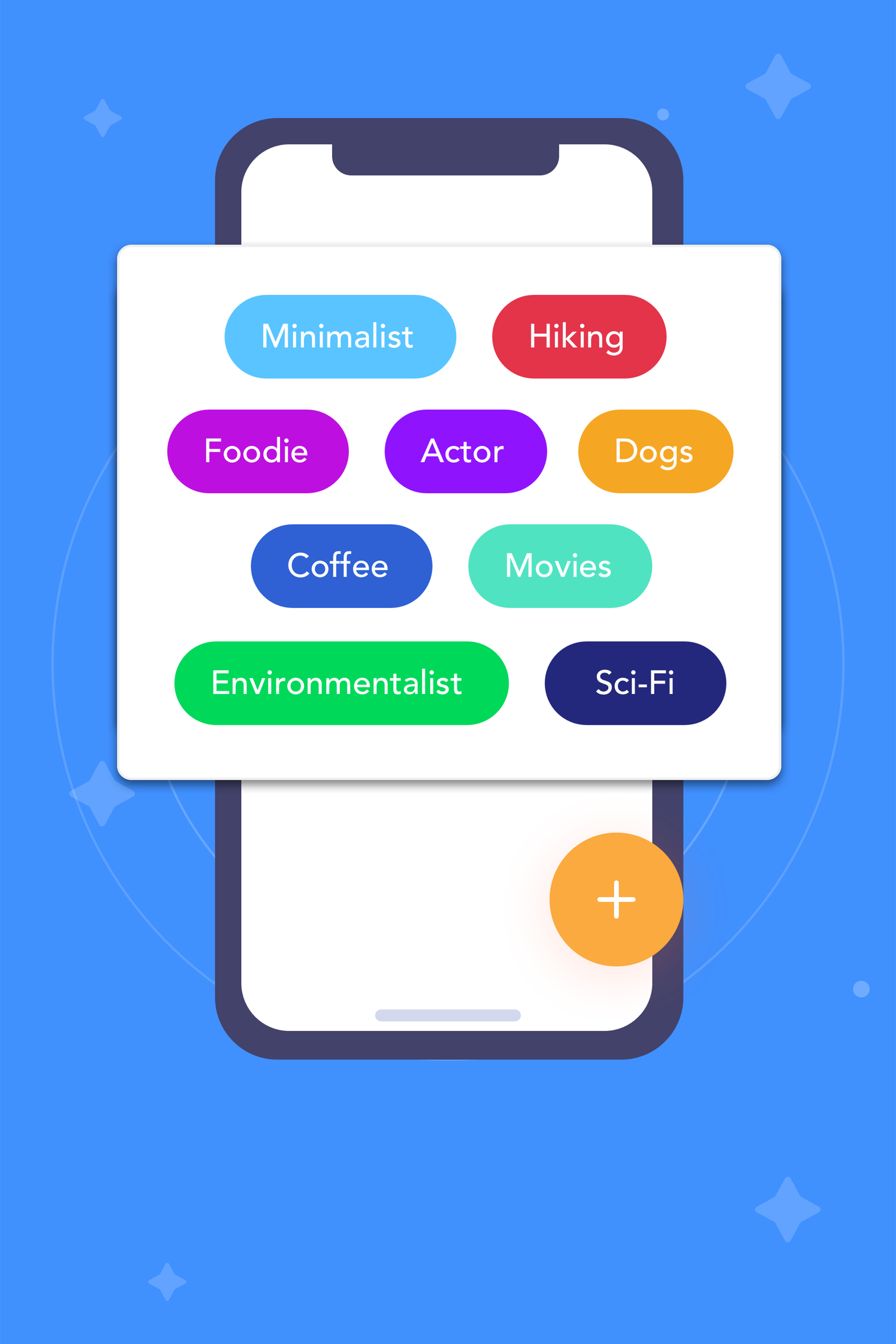 Group Friends - By using Tags, you can group your friends and create your own circles based on how you met them, what they are all about, and other shared interests, values, and traits.