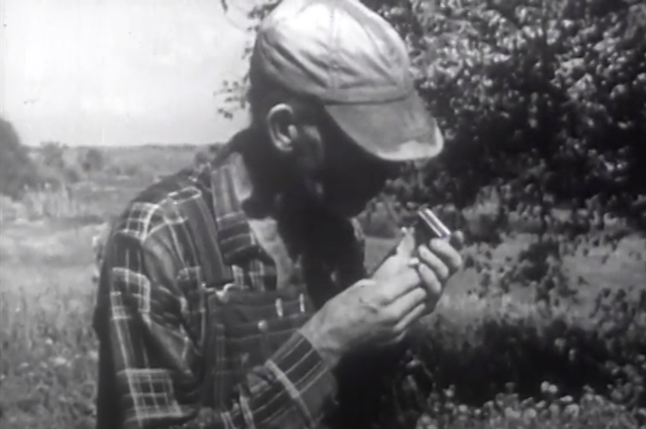 A farmer included in the USDA's 1965 report on   Poverty in Rural America