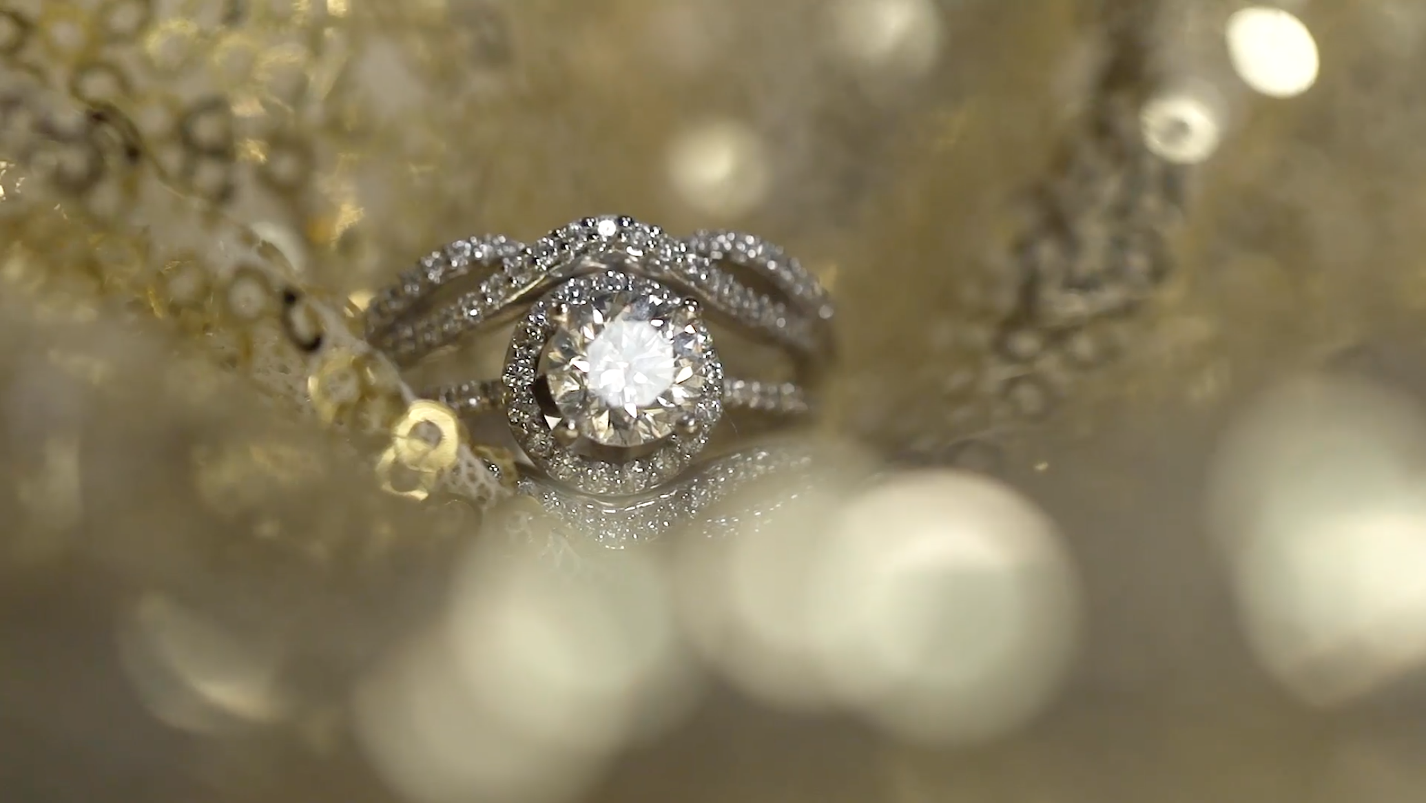 Beautiful Close Up Ring Shot