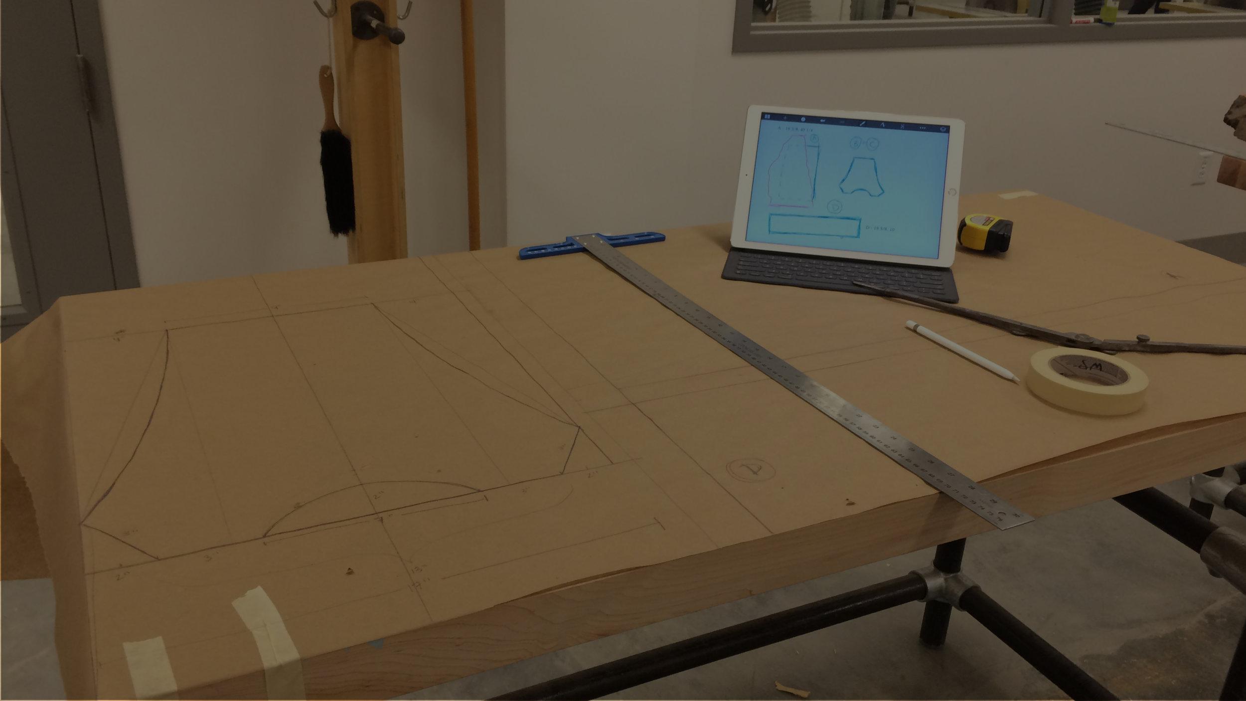 REDWOOD TABLE - Design to highlight natural live edgesSpring 2017