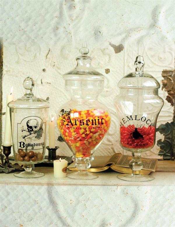 Poison Apothecary Jars