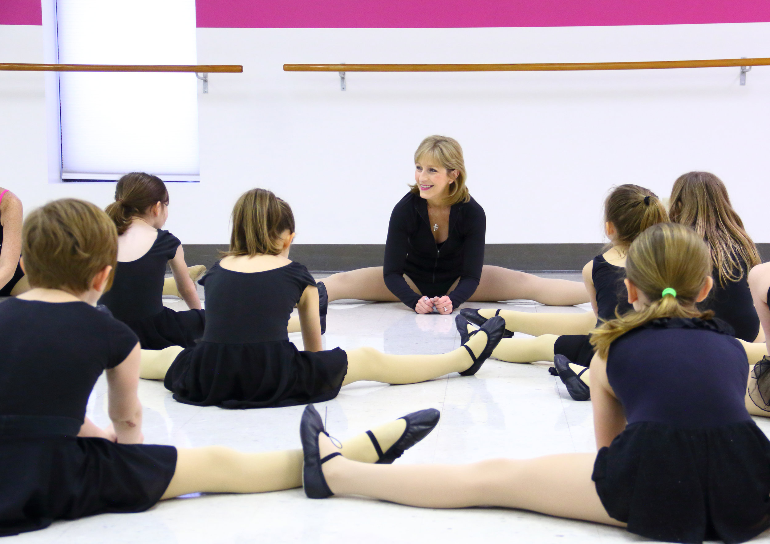 Dance Class Stretching