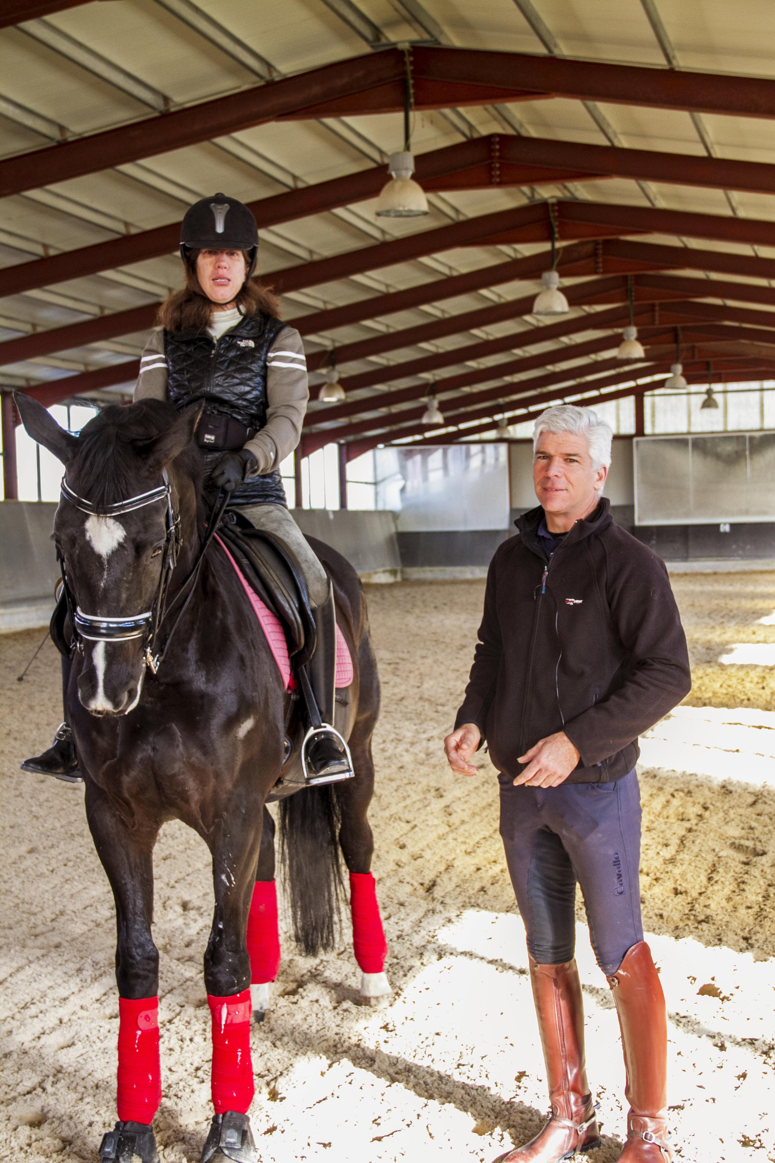 José y Sonia Villalba - Campeona de España de doma clasica Paraecuestrecompetidora en las Paraolimpiadas y 3 campeonatos del mundo