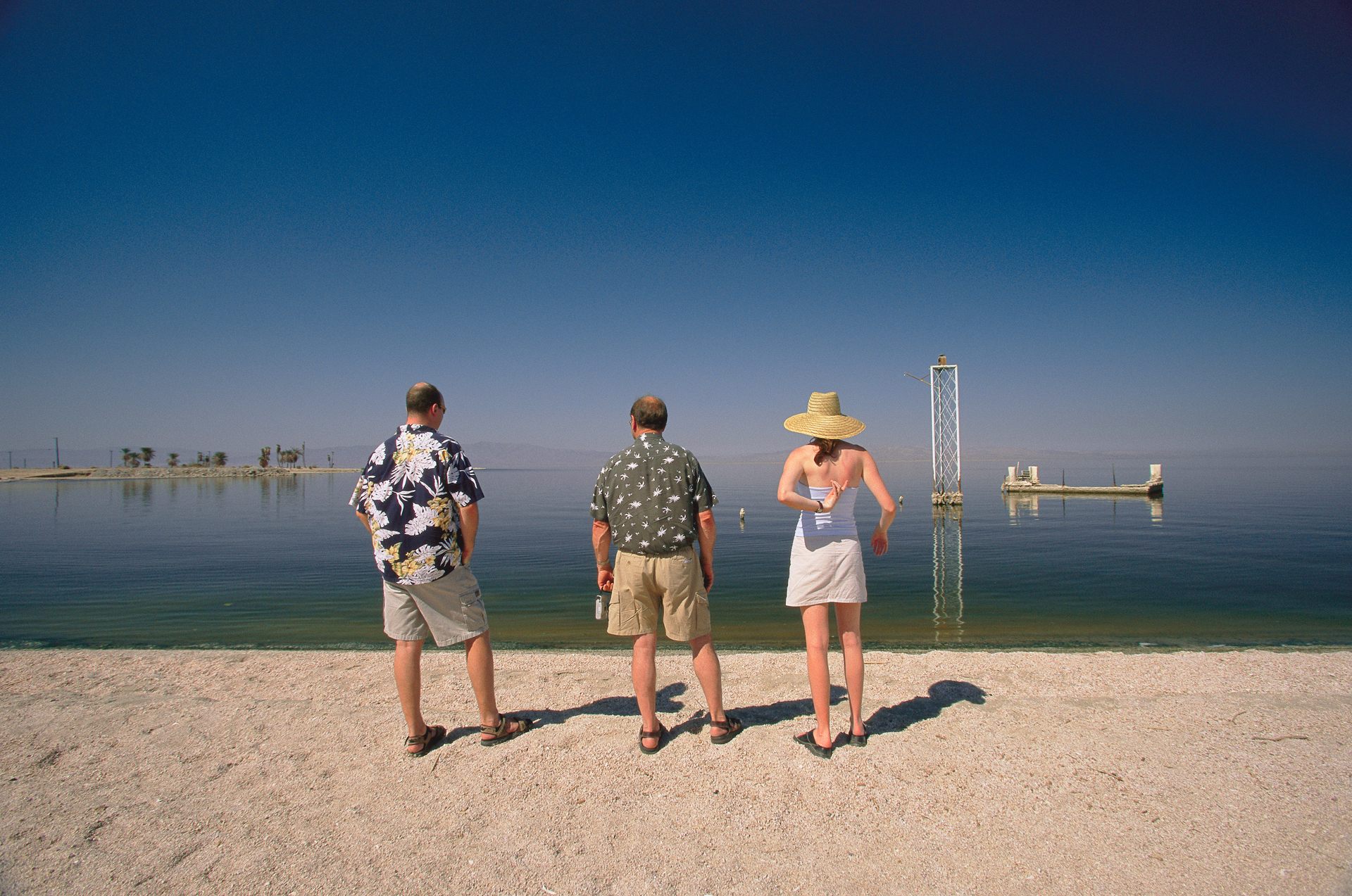 Once a lure for movie stars in the 1950's and 60's, the Salton Sea was expected to become the next Las Vegas. Now tourists can only imagine its former splendor.  Salton City