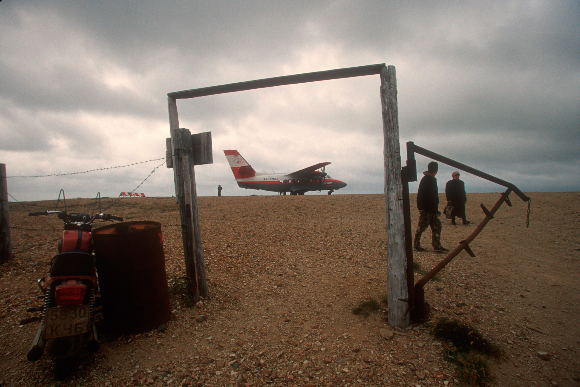 Today a tiny airport connects the settlement of Nikolskoye with the Russian mainland.  Bering Island, Russia