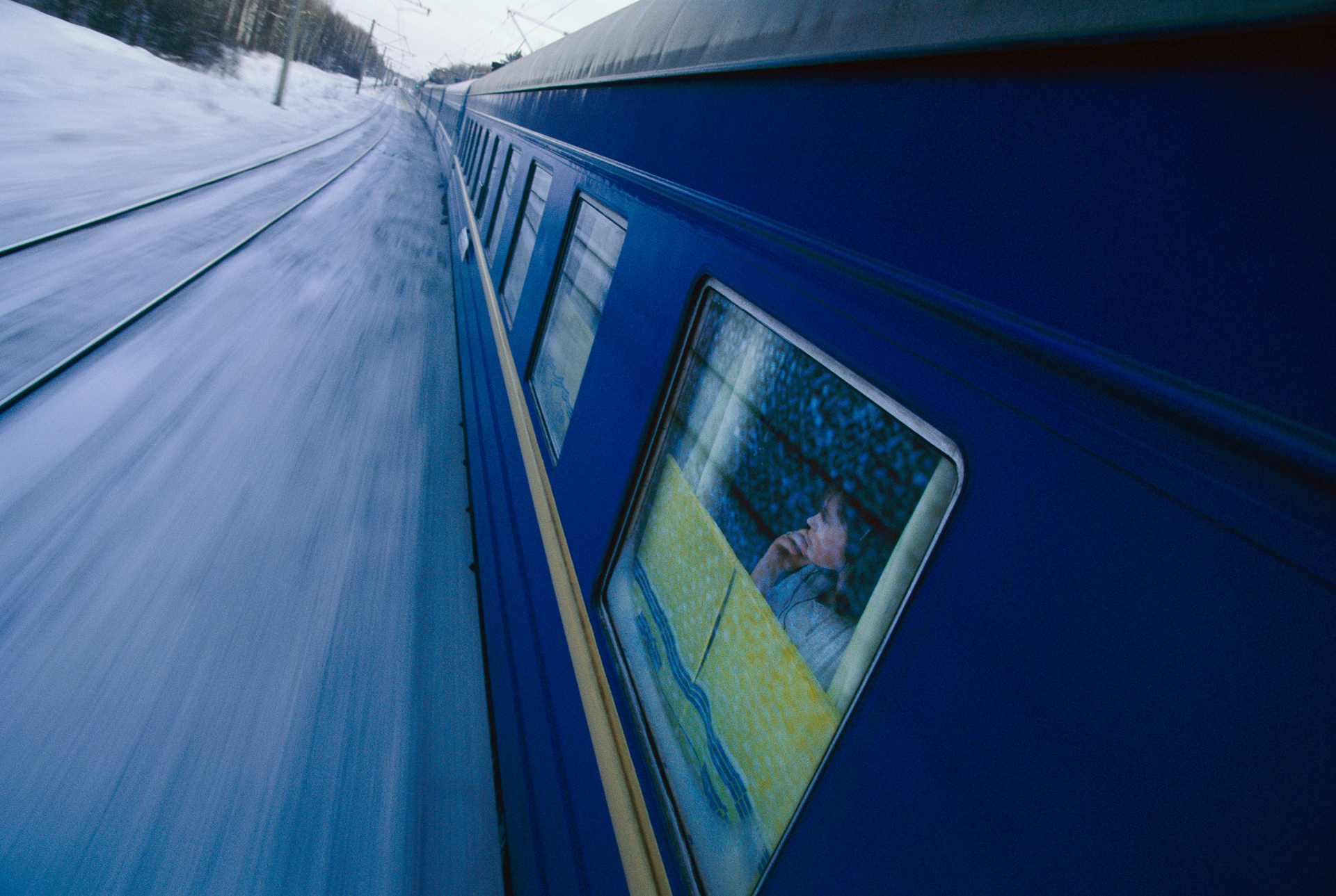 The world's longest railroad, the Trans-Siberian is a century-old monument to the tsars' imperial will, the Soviet Union's might, and Russia's resilience. From Moscow, it heads east through the Ural Mountains and across Asia to Vladivostok, on the Sea of Japan.  Siberia, Russia
