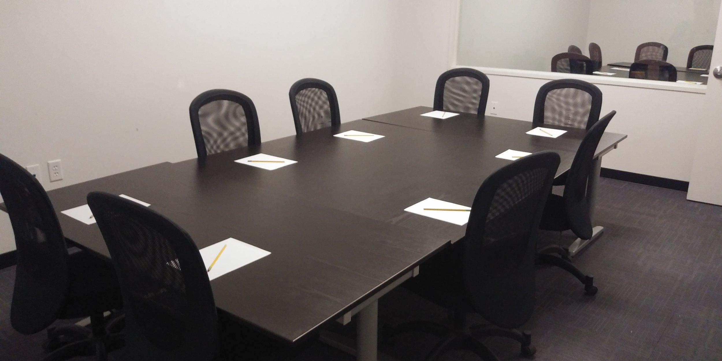 Focus Group Set-Up