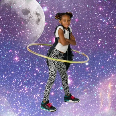 Our Ice Hoops are out of this world! #icehoop #hulahoop #hooping #space #galaxy