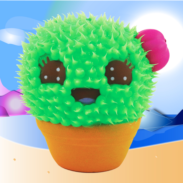 Buttercup the Cactus - This is Buttercup the Cactus! She's friendly and loves giving hugs, which is unfortunate since she's a prickly cactus!