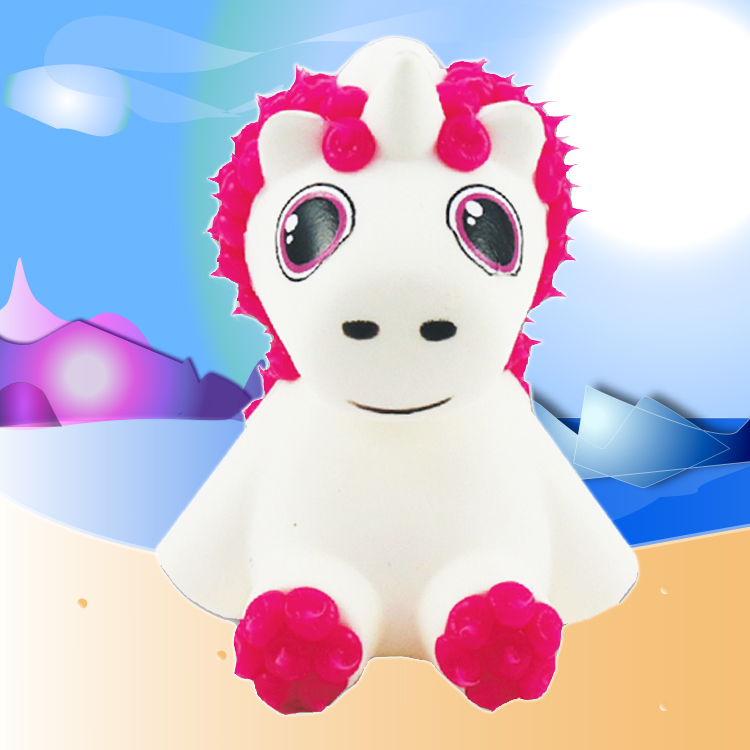 Luna the Unicorn - Meet Luna! He can grant wishes! His biggest wish? That everyone would stop following him around asking him to grant their wishes!