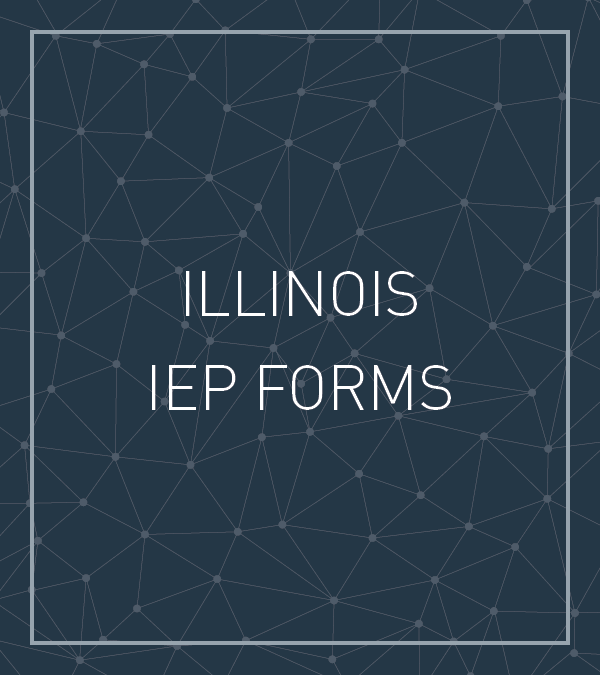 Illinois IEP FORMS