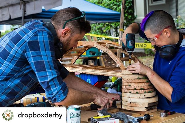 Are you following our @dropboxderby account? Hop over there for updates and a countdown to Portland's biggest design/build challenge. #repost from @dropboxderby:  Artists, designers, families, local business owners, DIY junkies, builders, contractors, tourists, and passersby make up the Derby crowd. Come witness Portland's biggest design-build challenge on Labor Day 10-4 at the Eastbank Esplanade! . . . #dropboxderby #laborday #pdx #portland #pdxevents #pdxkidsevents #artevents #designbuild #designbuildrepeat #decon #deconlife #renovations #salvage #salvagedwood #upcycle #reuse #reuseart #preservation #sustainablepdx #sustainabledesign #sustainableart #salvagestyle