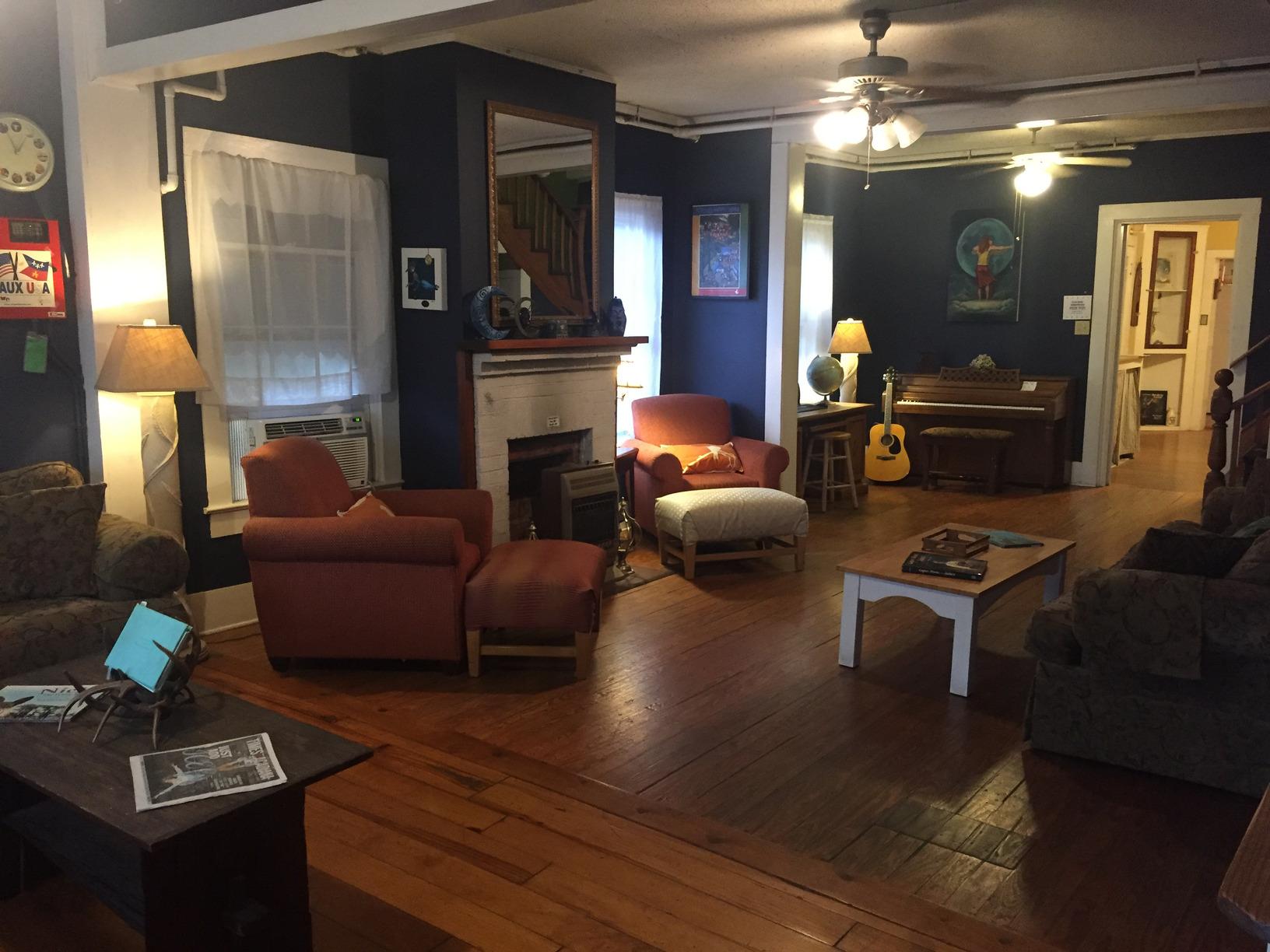 Blue Moon Saloon Living Room