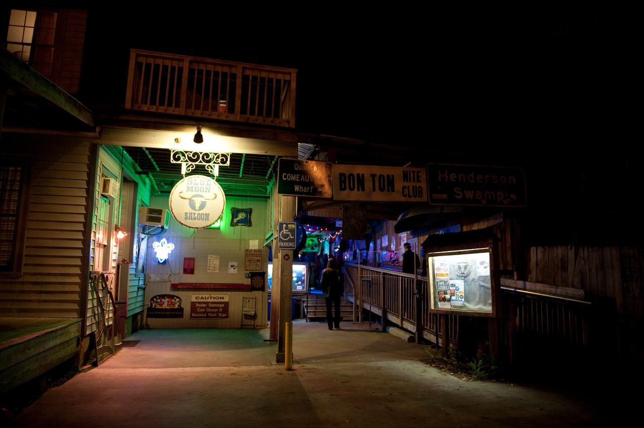 Blue Moon Saloon Entrance