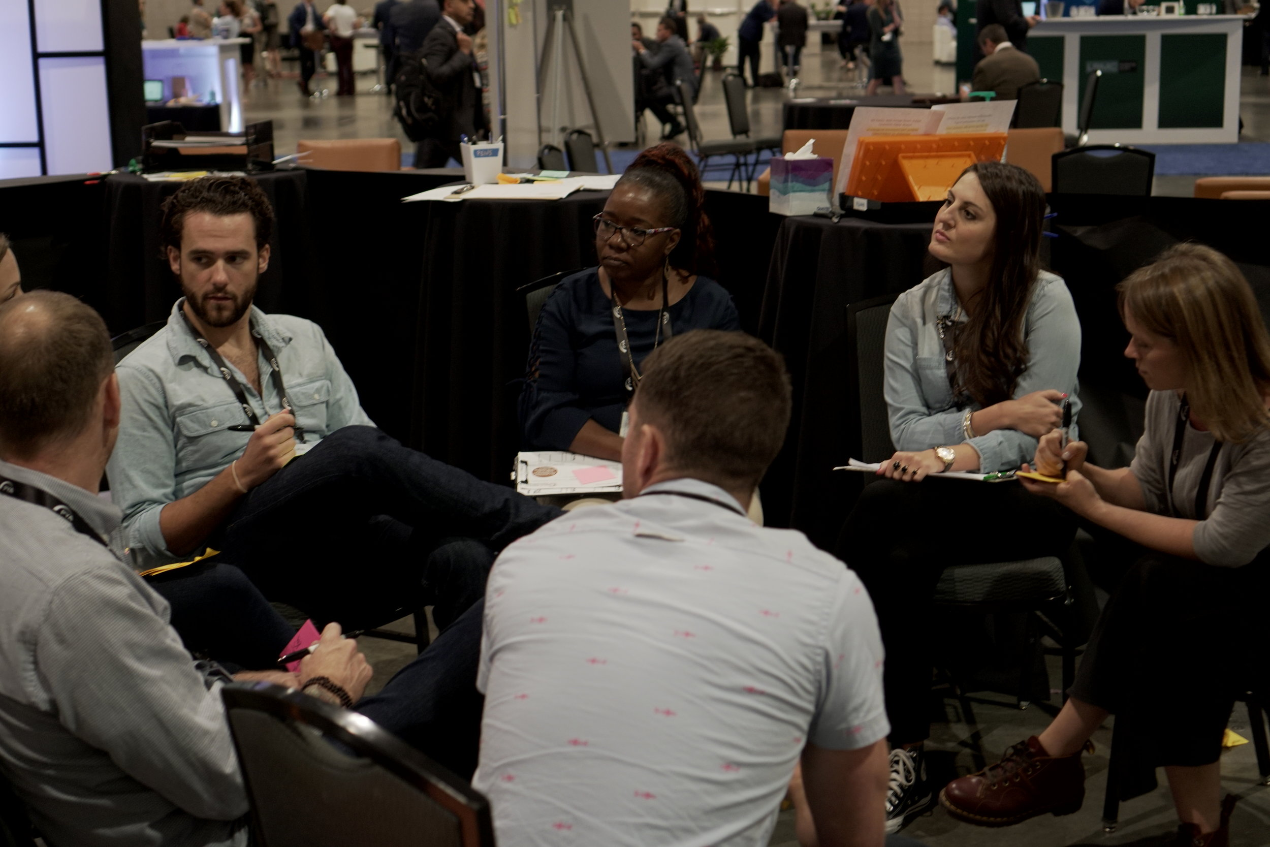 Team Debrief! - At the end of the sprint, we unpacked what worked, more importantly what didn't and how we could help ConnectUs move forward and implement some prototypes with real patients.