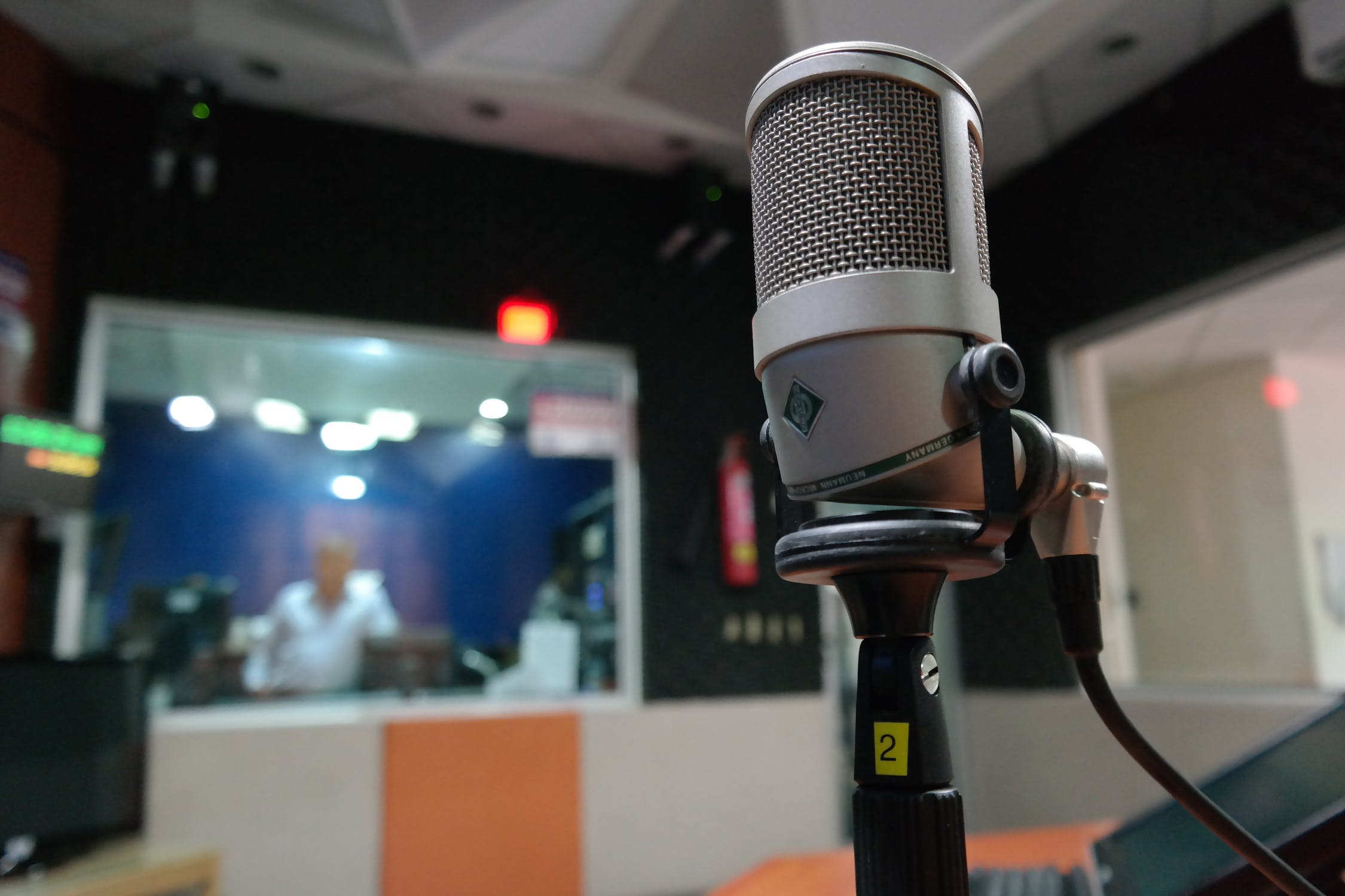 - voiceovers