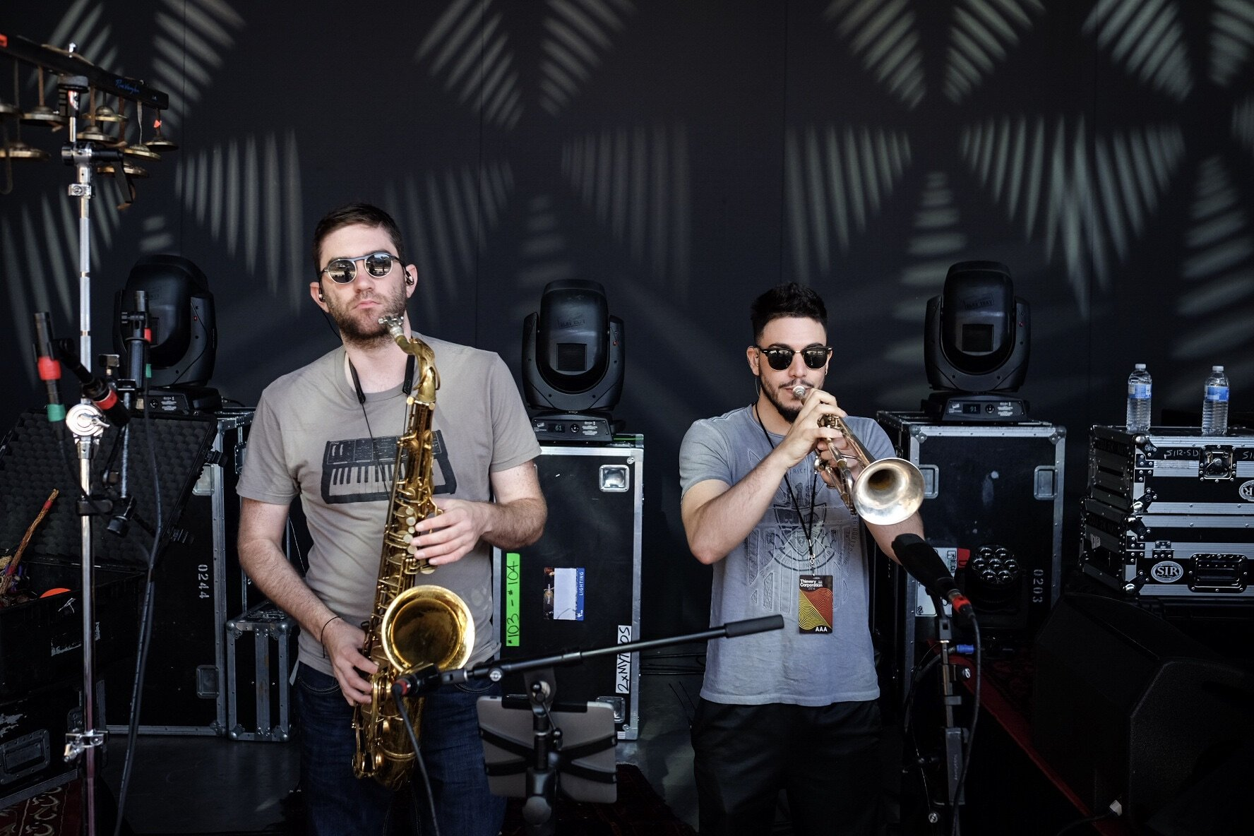 - mike & jesse - brass section