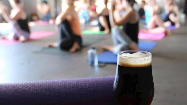 Beer & Yoga - This occurs the first Thursday of the Month at Ozark Beer Co. in Historic Downtown Rogers! $10 for the class and we begin at 5:45! (Beer not Included)
