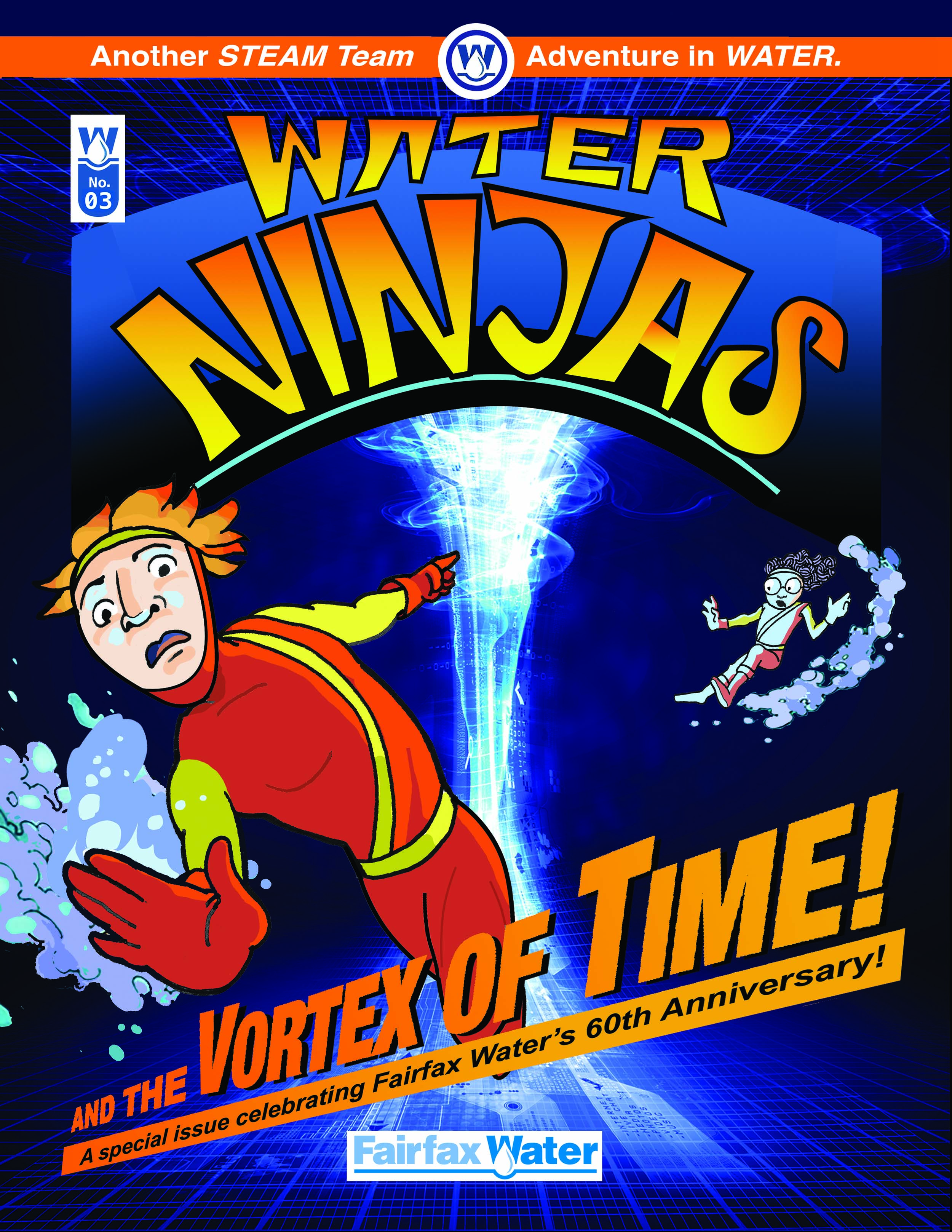 Water NinJas: and the Vortex of Time!