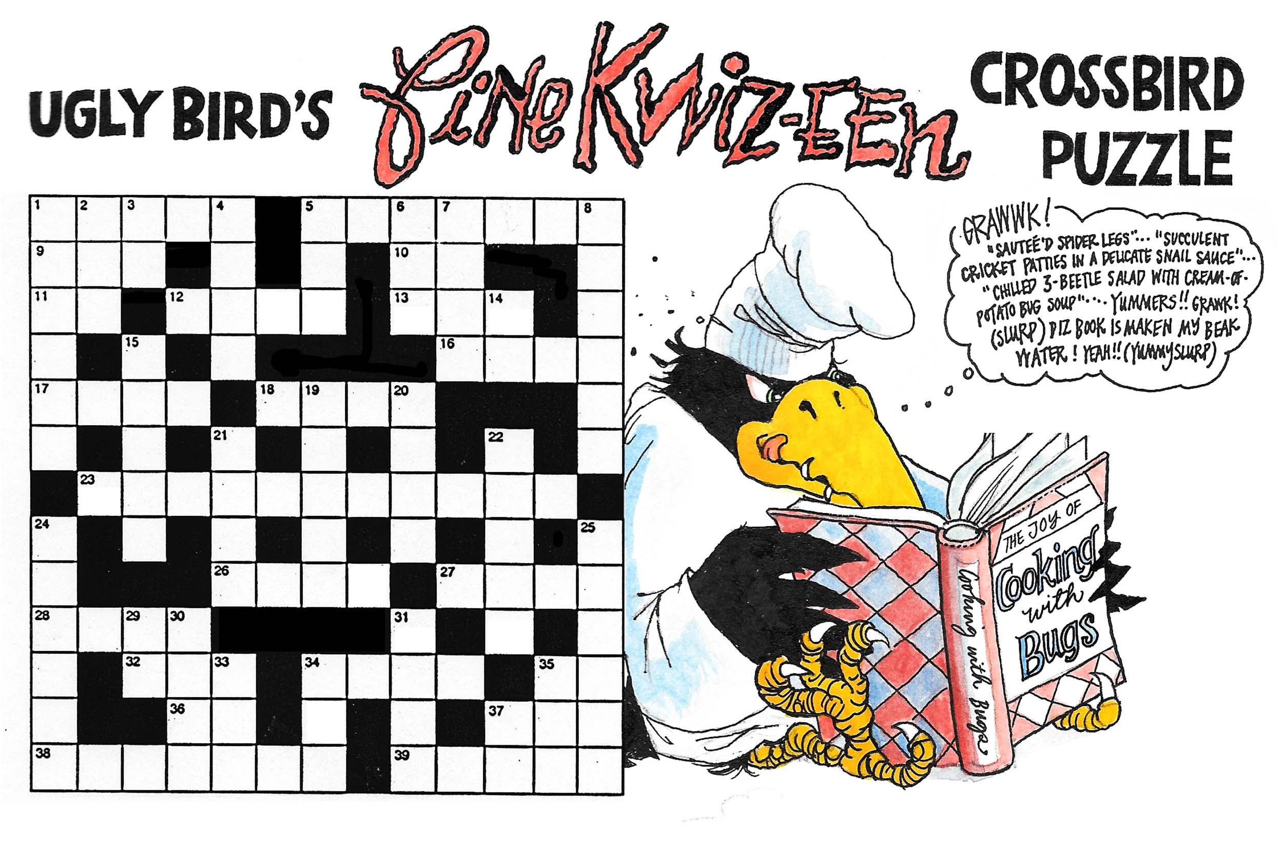Ugly Bird's Fine Kwiz-een Puzzle