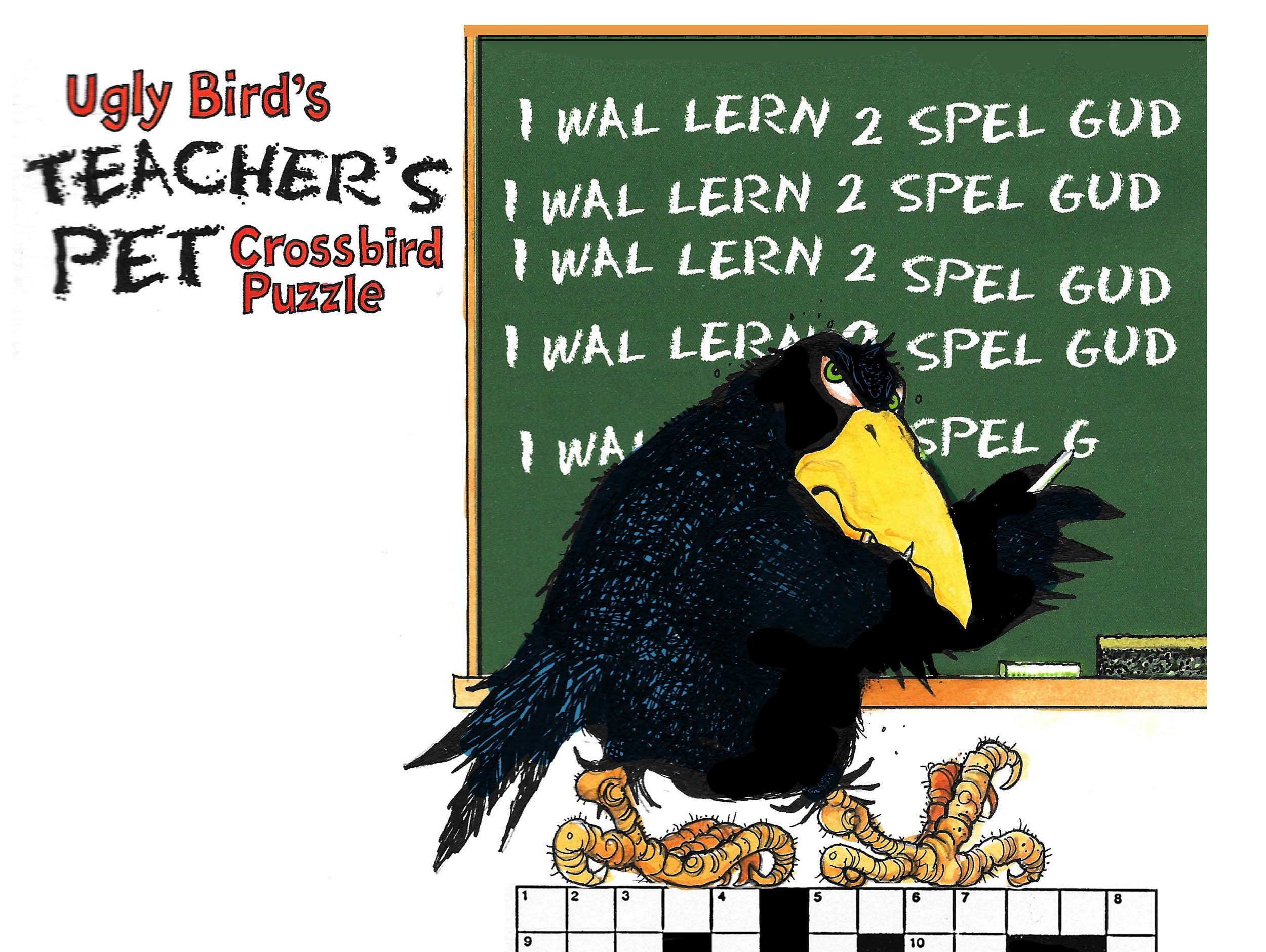 Ugly Bird's Teacher's Pet Crossbird Puzzle