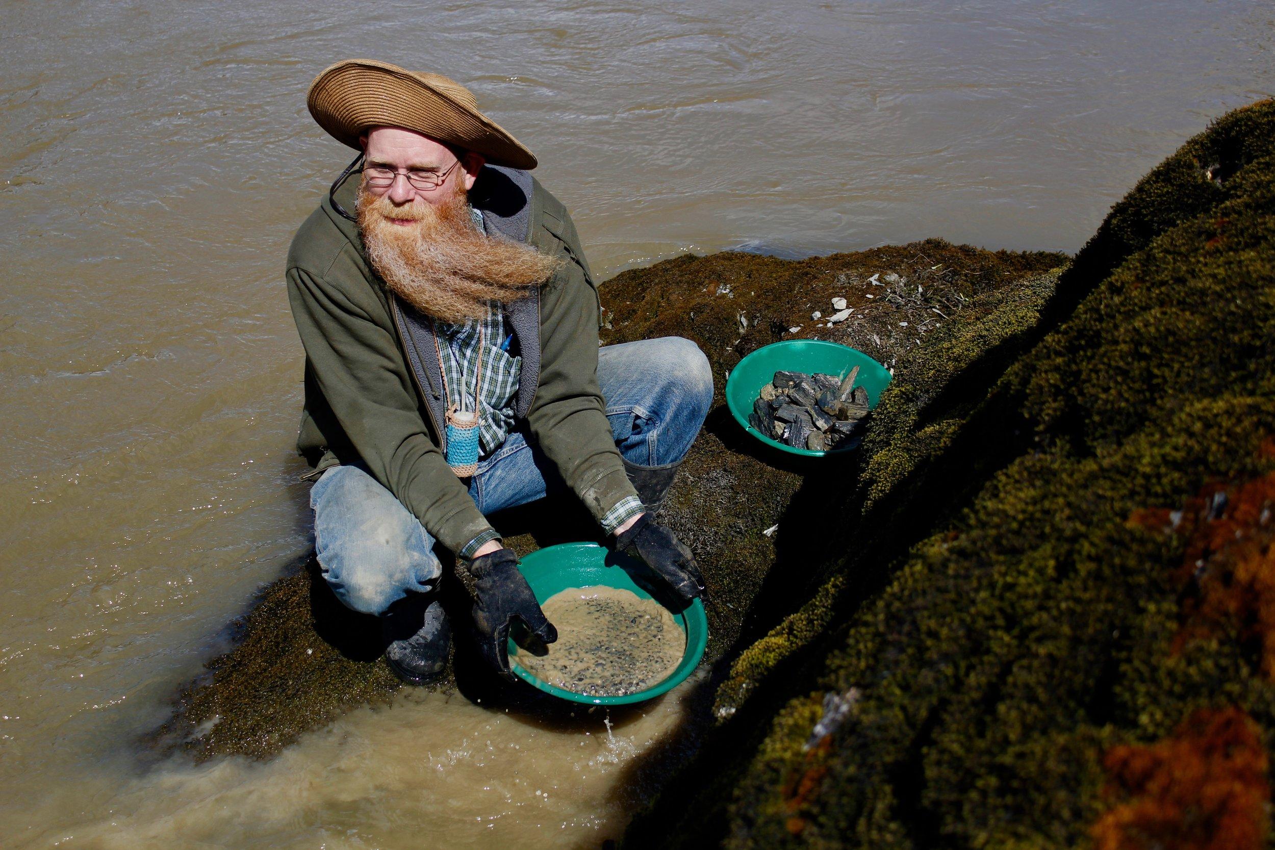 Gold hunting with Dan Hurd
