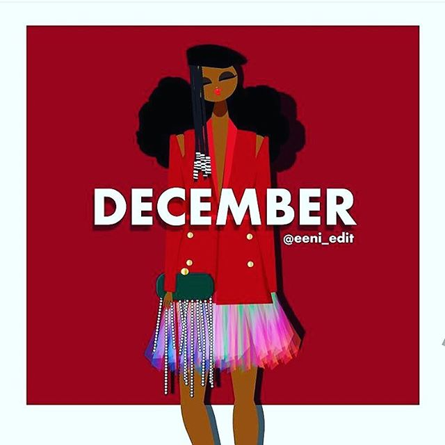 Awww we just love December & @eeni_edit creative designs 😍 . . This is our CEO's birthday month and she's always extra giving so stay tune to our insta-stories for free giveaways. . . #FreedomOfExpression #FreedomOfStyle #FindYourTribe #ShopScripteez #LoveCultureAmbitionAndLegacy #Winter #December #Blkcreatives #womeninbusiness #artisticexpression #webuyblack #blackExcellence