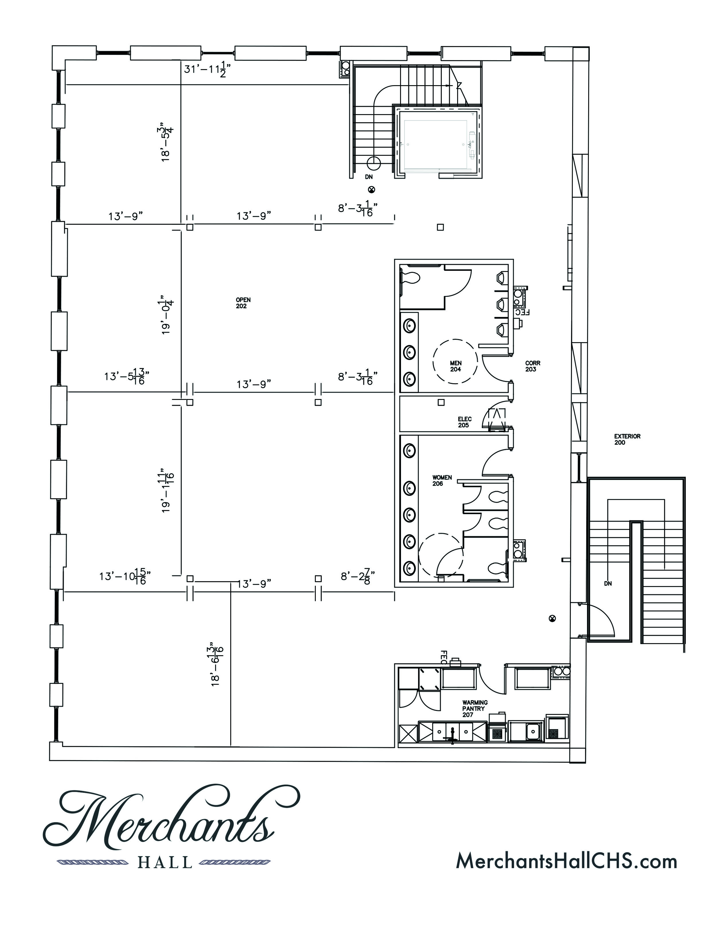 Merchants Hall Layouts