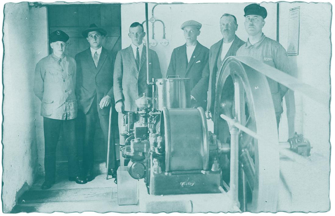 Dieselgeneratorenanlage