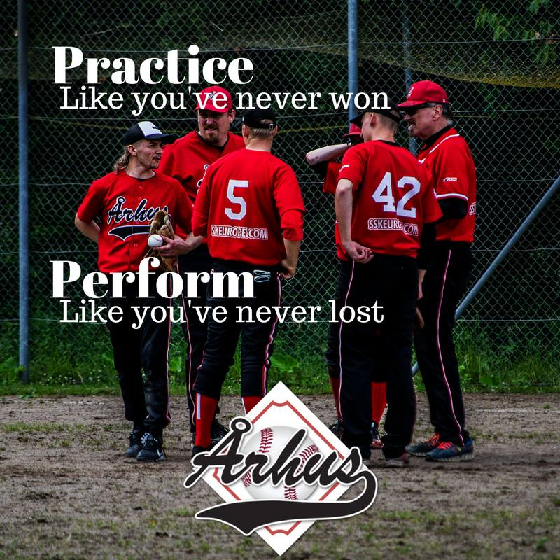 practice like you've never won. perform like you've never lost