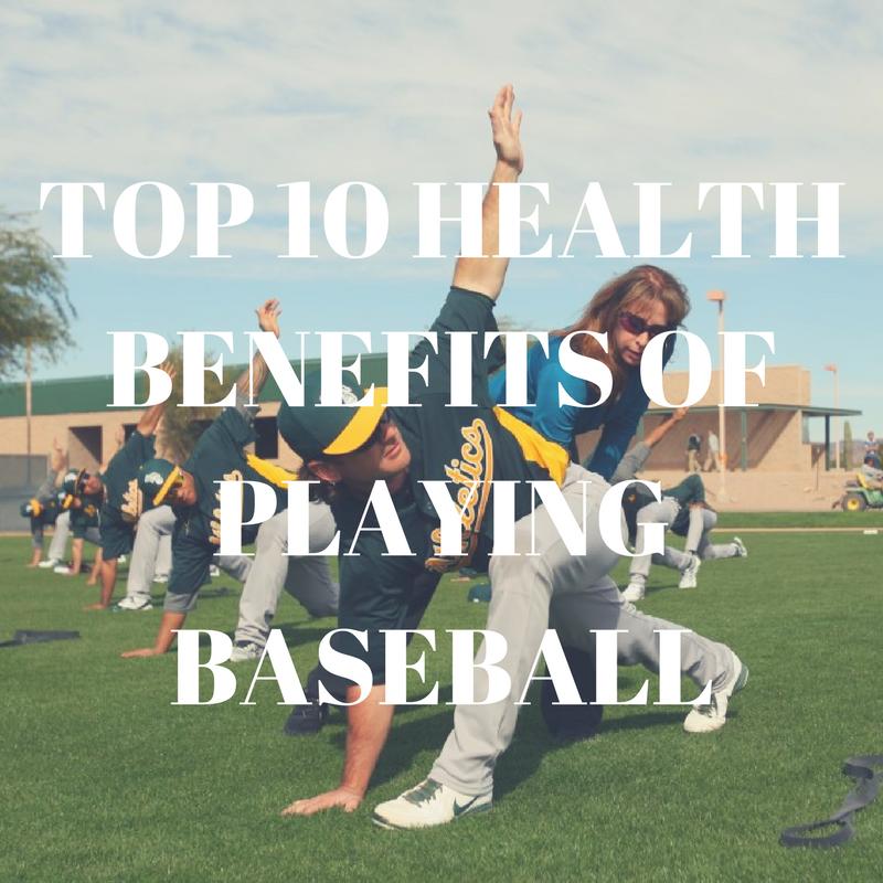 TOP 10 HEALTH BENEFITS OF PLAYING BASEBALL