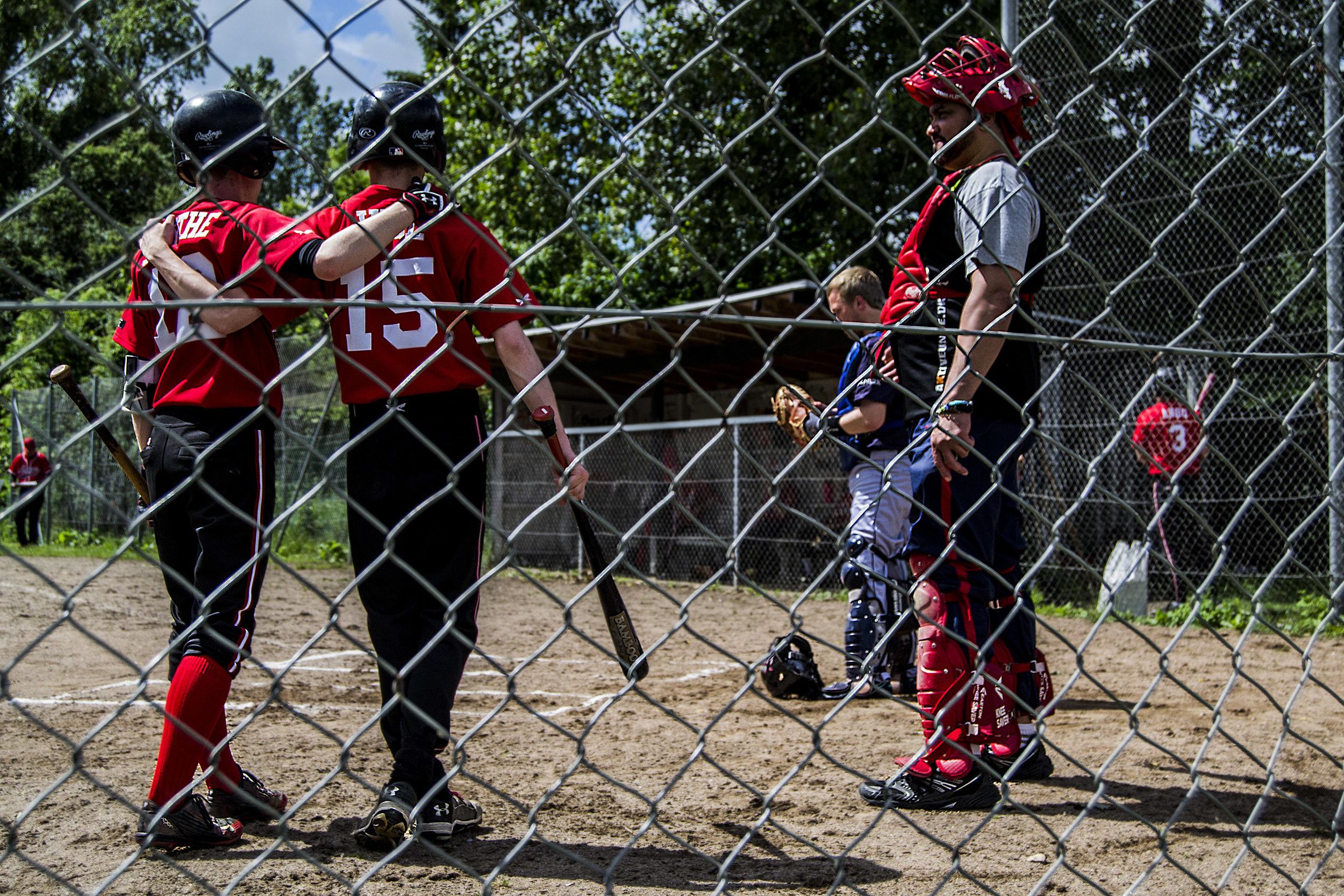 Baseball kamp ved Århus Baseball Softball Klub