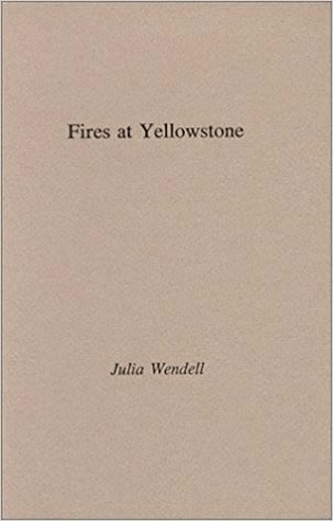 Winner of the 1993 Bacchae Press National Chapbook Competition.  -