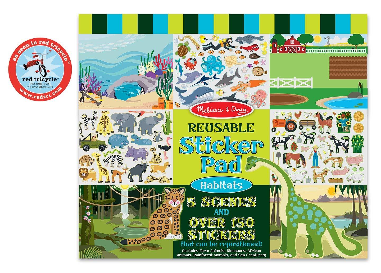 Melissa and Doug Reusable Sticker Pad