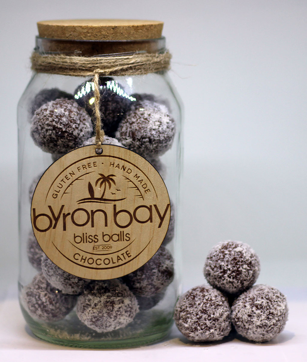 chocolate bliss balls from byron bay