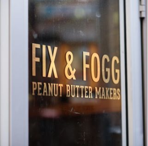 FIX AND FOGG MAKERS OF DIVINE PEANUT BUTTER