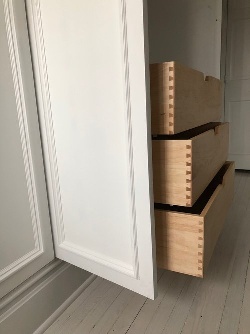 Solid maple dovetailed drawers.jpg