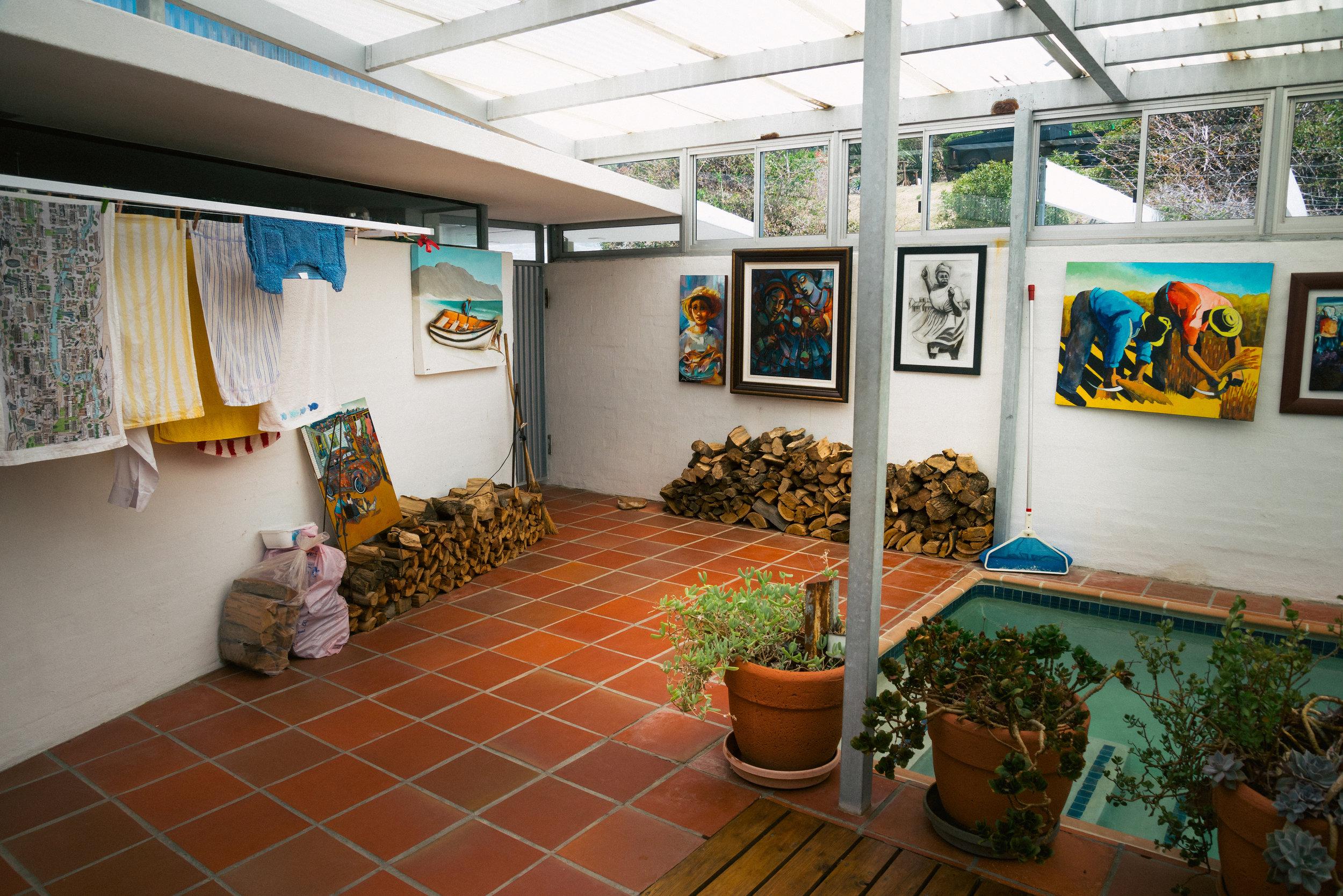 Denis Goldberg's home in Hout Bay.