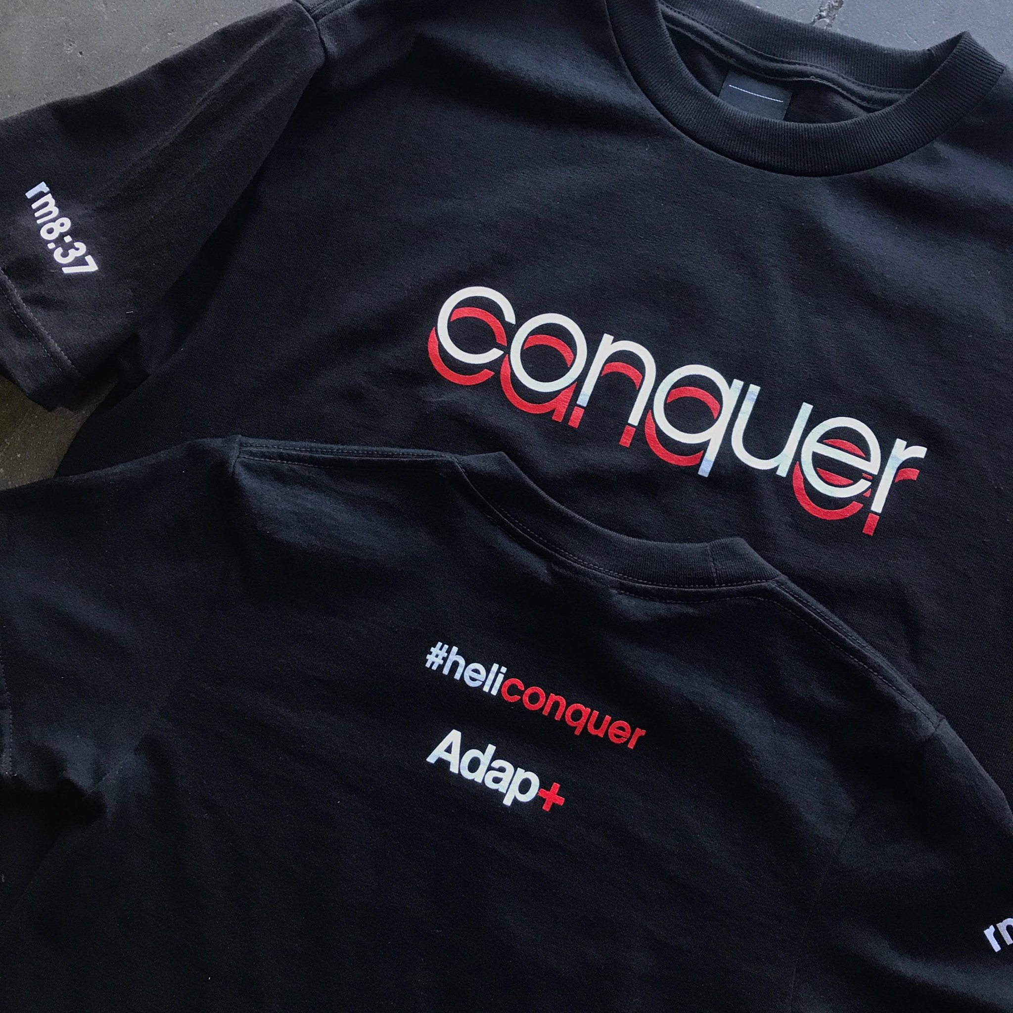 10 Helicon Conquer shirts.jpg