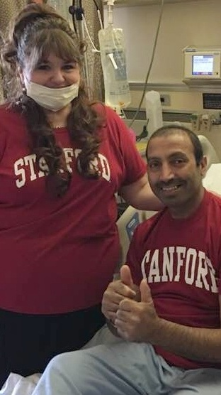 Shahzad Bhat, Non-Hodgkin Lymphoma, Refractory - Cancer details: Nicole Bhat fought for her husband to get CAR T-cell therapy after he was told 1st line chemo didn't put him into remission from non-Hodgkin's.1st Symptoms: Extreme fatigueTreatment: R&B, R-ICE, R-EPOCH, CAR T-cell therapy